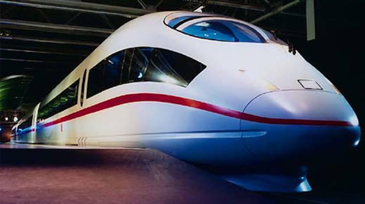 Сапсан - самый быстрый поезд в России